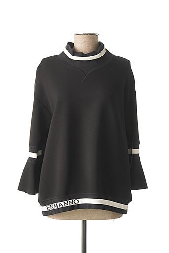 Sweat-shirt noir ERMANNO SCERVINO pour femme