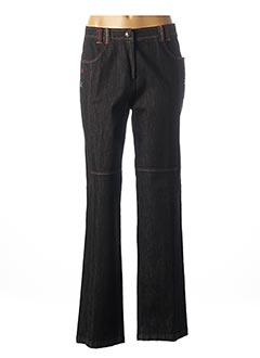 Pantalon casual noir FRANCOISE F pour femme