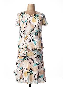 Top/jupe blanc FRANCE RIVOIRE pour femme