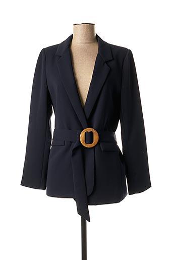 Veste chic / Blazer bleu GRACE & MILA pour femme