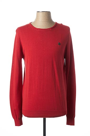 Pull col rond rouge ANTONY MORATO pour homme