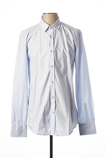 Chemise manches longues bleu ANTONY MORATO pour homme
