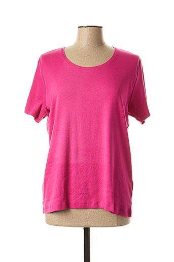 T-shirt manches courtes rose ENDLESS SUMMER pour femme