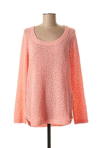 Pull col rond rose VERO MODA pour femme