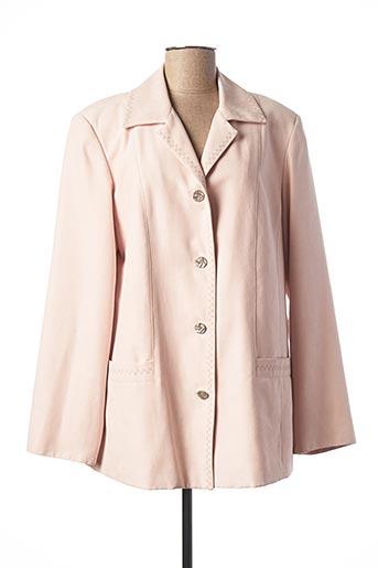 Veste casual rose ARIELLE pour femme