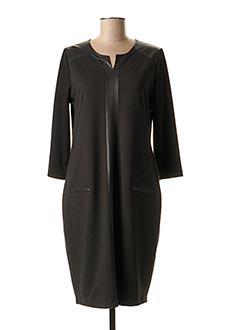 Robe mi-longue noir GERRY WEBER pour femme