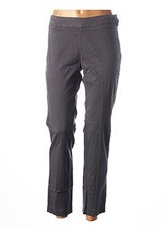 Pantalon 7/8 gris ANNA SCOTT pour femme