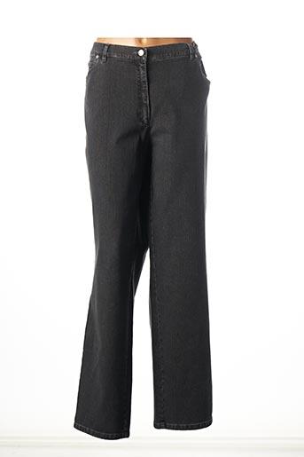 Jeans coupe droite gris GERKE MY PANTS pour femme