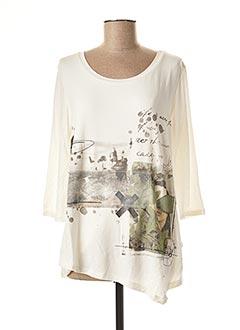 T-shirt manches longues blanc STREET ONE pour femme