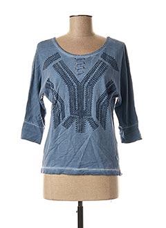 Sweat-shirt bleu ANNA SCOTT pour femme