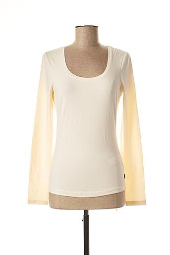 T-shirt manches longues beige ANNA SCOTT pour femme
