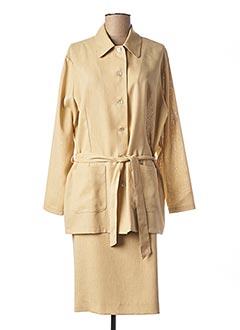 Veste/jupe beige CLAUDE DE SAIVRE pour femme