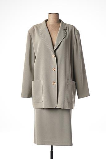 Veste/jupe gris FEDORA pour femme