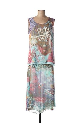 Top/jupe bleu BRIGHTON pour femme