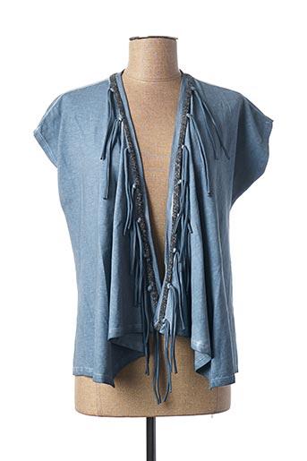 Veste casual bleu ANNA SCOTT pour femme