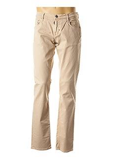 Jeans coupe droite beige ANTONY MORATO pour homme