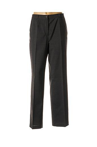 Pantalon chic gris BRIGITTE SAGET pour femme