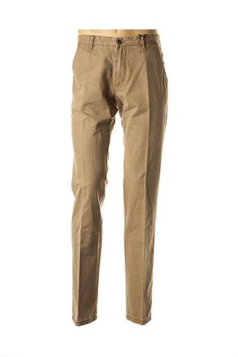 Pantalon chic marron STONES pour homme