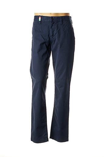 Pantalon casual bleu ALBERTO pour homme