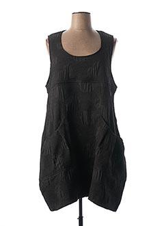 Robe mi-longue noir GERSHON BRAM pour femme