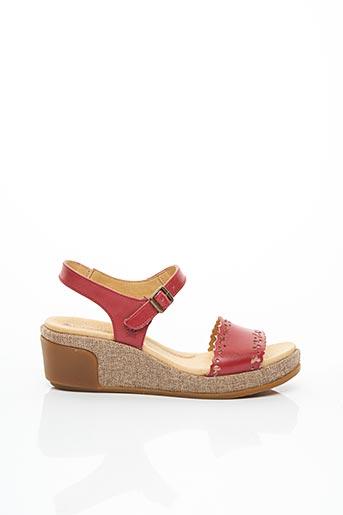 Sandales/Nu pieds rouge EL NATURALISTA pour femme