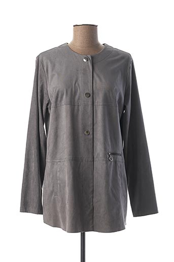 Veste casual gris FRANK WALDER pour femme
