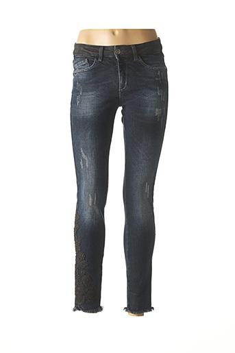 Jeans skinny bleu PIERRE CARDIN pour femme