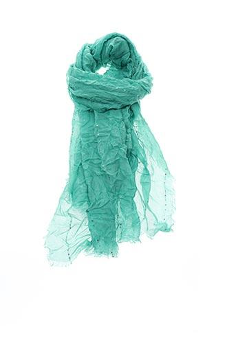Foulard vert SAMOON pour femme