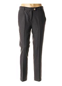 Pantalon 7/8 noir MAISON LAB pour femme
