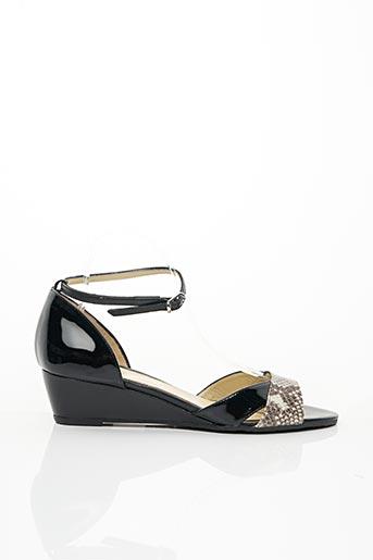 Sandales/Nu pieds noir CRISTINA MILLOTTI pour femme