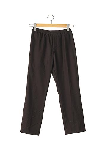 Pantalon casual marron ESKANDAR pour femme