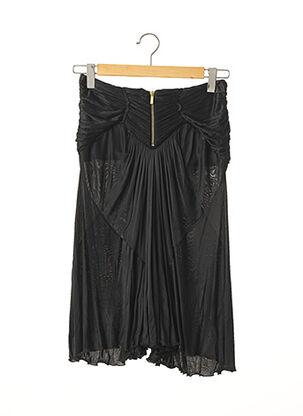 Jupe mi-longue noir ROBERTO CAVALLI pour femme