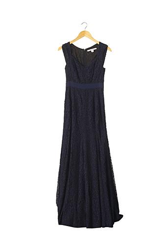 Robe longue bleu DIANE VON FURSTENBERG pour femme