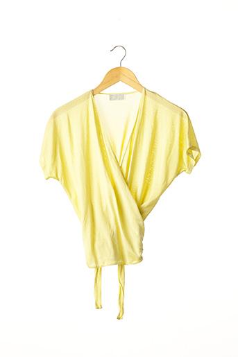 Top jaune EMMANUELLE KHANH pour femme