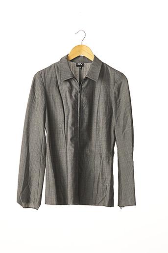 Veste casual gris EV pour femme