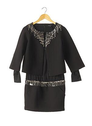 Veste/robe noir PATRIZIA PEPE FIRENZE pour femme