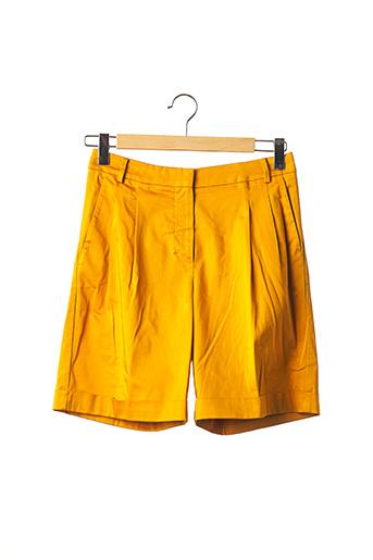 Bermuda jaune MAXMARA pour femme