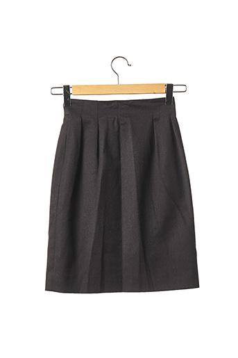 Jupe mi-longue gris CELINE pour femme