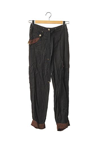 Pantalon casual noir BRANDEEZ pour femme
