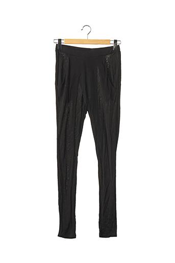 Pantalon casual noir BY MALENE BIRGER pour femme