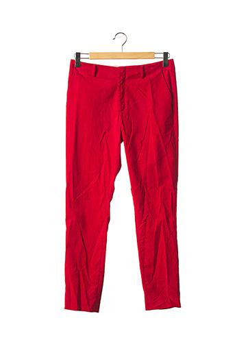 Pantalon casual rouge FORTE-FORTE pour femme