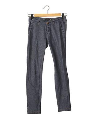Pantalon 7/8 bleu LOVE MOSCHINO pour femme