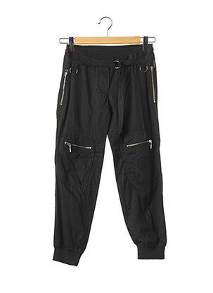 Pantalon 7/8 noir PLEIN SUD pour femme