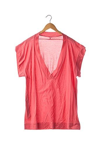 T-shirt manches courtes rouge ERES pour femme