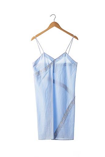 Robe mi-longue bleu COURREGES pour femme