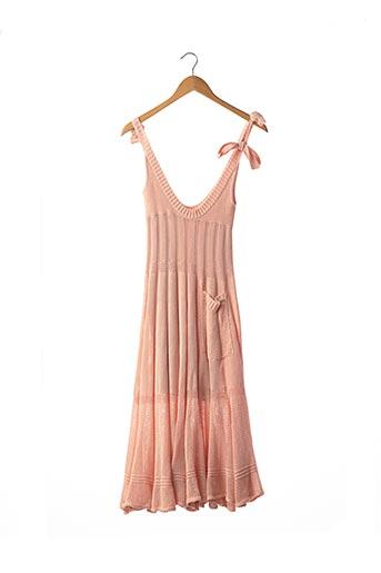Robe pull rose SONIA RYKIEL pour femme