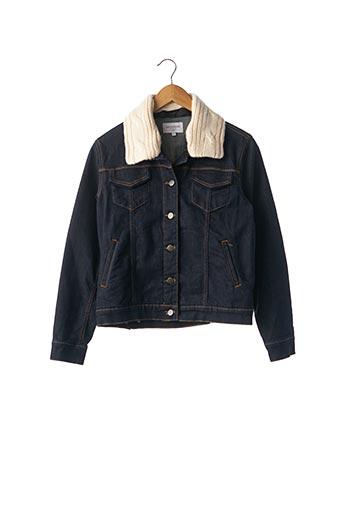 Veste en jean bleu ERIC BOMPARD pour femme