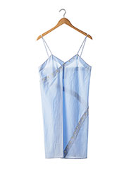 Robe mi-longue bleu COURREGES pour femme seconde vue