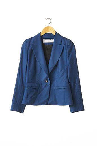 Veste chic / Blazer bleu CASTELBAJAC pour femme