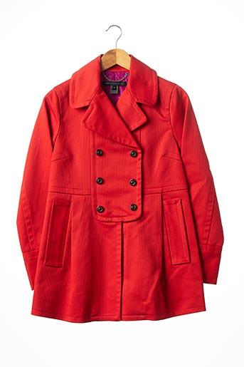 Manteau court rouge MARC JACOBS pour femme